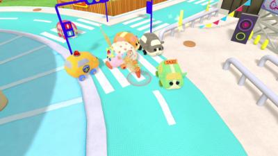 Nintendo Switch「PUI PUI モルカー Let's!モルカーパーティー!」かんさつ