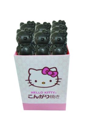 「Hello Kitty Japan ダイバーシティ東京 プラザ店」カフェ_クロミ_ハローキティのクロミ焼きイメージ
