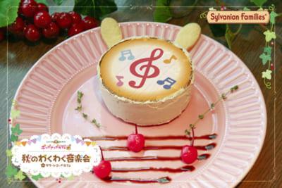ショコラウサギの赤ちゃんのパンケーキ