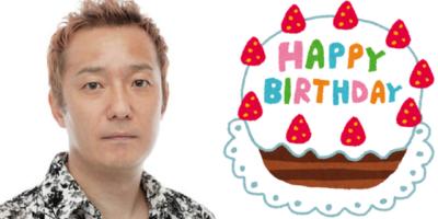 10月13日は小野坂昌也さんのお誕生日