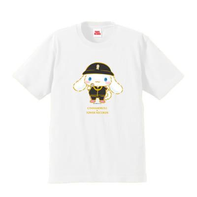 「シナモロール×タワレコ」グッズ渋谷店・新宿店・あべのHoop店・オンライン取扱商品 Tシャツ