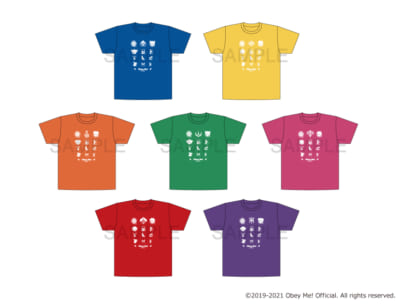 Obey Me! Official Tシャツ Lサイズ