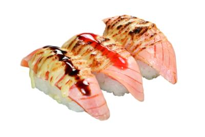 くら寿司×「鬼滅の刃」煉獄杏寿郎の炎の炙りチーズサーモン