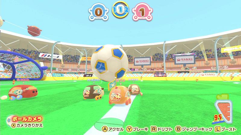 Nintendo Switch「PUI PUI モルカー Let's!モルカーパーティー!」ミニゲーム場面7