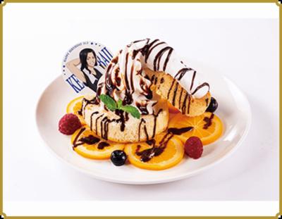 「東リベ×極楽湯」場地お誕生日おめでとう!オレンジチョコのスフレパンケーキ