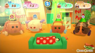 Nintendo Switch「PUI PUI モルカー Let's!モルカーパーティー!」ミニゲーム場面2