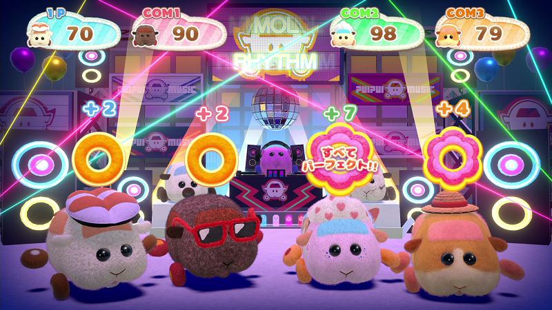 Nintendo Switch「PUI PUI モルカー Let's!モルカーパーティー!」ミニゲーム場面10