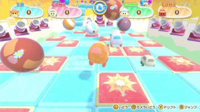Nintendo Switch「PUI PUI モルカー Let's!モルカーパーティー!」ミニゲーム場面8