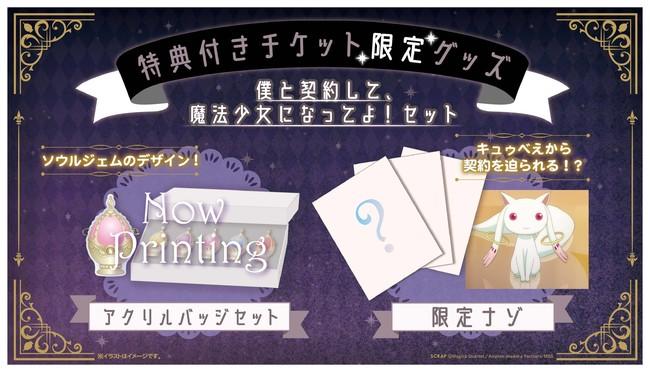 「魔法少女まどか☆マギカ」ワルプルギスの夜からの脱出特典付きチケット