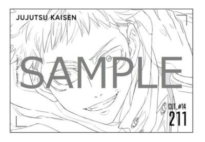 MAPPA×TSUTAYA TVアニメ原画集発売記念「呪術廻戦」miniアニメ原画展 Vol.2 グッズ購入特典:ポストカード