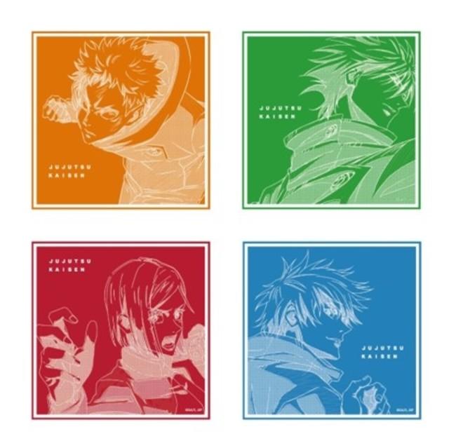 MAPPA×TSUTAYATVアニメ原画集発売記念「呪術廻戦」miniアニメ原画展 Vol.2アクリルコースター