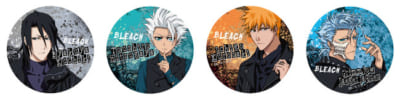 「BLEACH」オンラインくじ BLACK & ROCK E賞:76mm缶バッジ