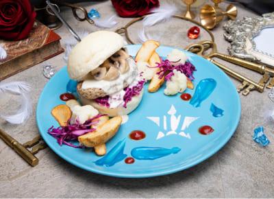 「Café de VISUAL PRISON」【O★Z】 紺碧のハンバーガープレート