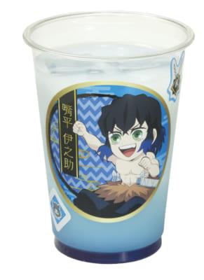 くら寿司×「鬼滅の刃」乳酸菌ウォーター ブルーレモン(伊之助ver)