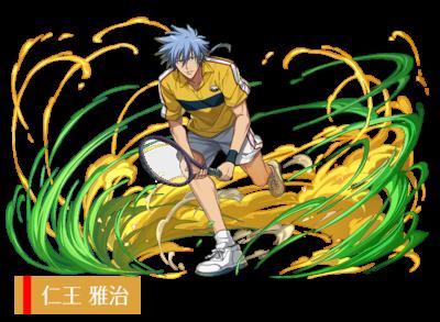 「パズル&ドラゴンズ」×「新テニスの王子様」仁王雅治