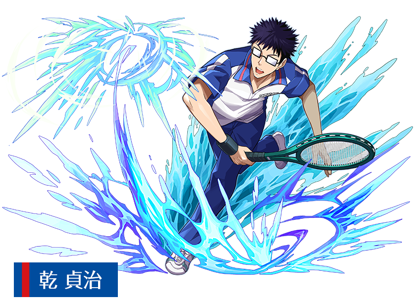 「パズル&ドラゴンズ」×「新テニスの王子様」乾貞治