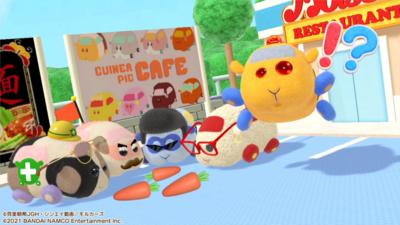 Nintendo Switch「PUI PUI モルカー Let's!モルカーパーティー!」フォトスタジオ