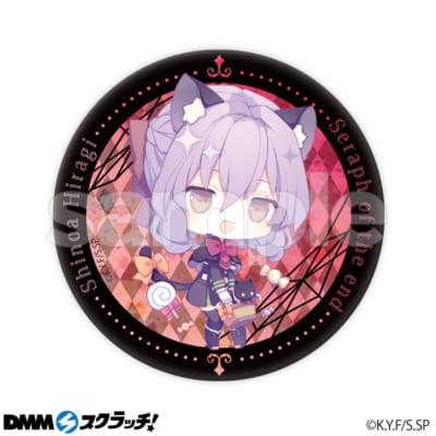 終わりのセラフDMMスクラッチ E賞缶バッジ 柊シノア