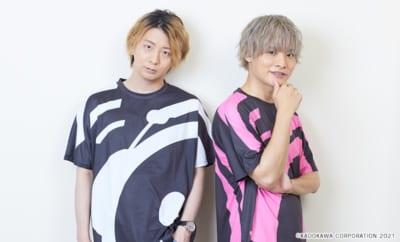 木村良平さんと岡本信彦さんによるWEBラジオ「ガルスマ」&「ボイスマ」新宣材写真