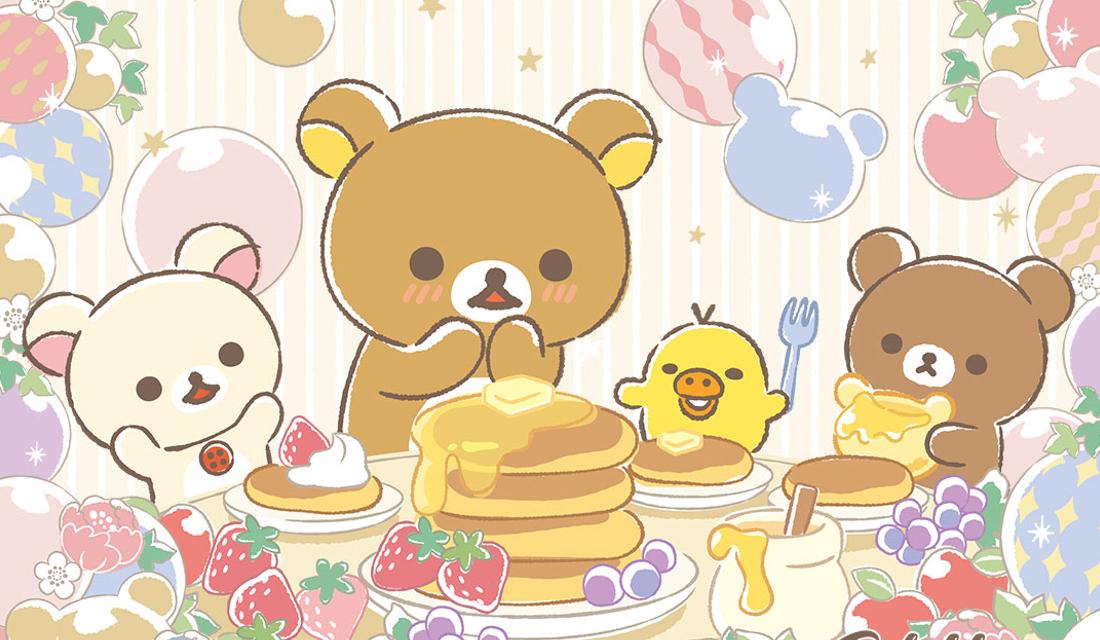 「リラックマ×一番くじ」パンケーキを楽しむ姿にほっこり!ラストワン賞は大きなぬいぐるみ