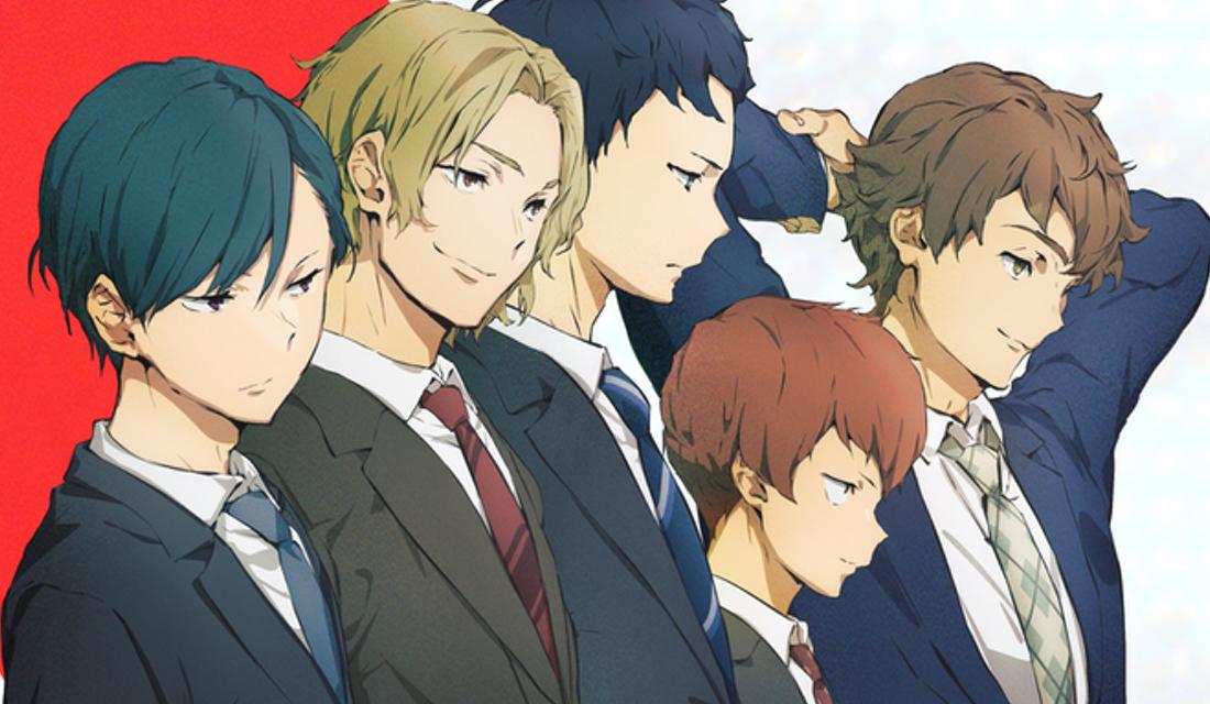 TVアニメ「リーマンズクラブ」2022年1月放送!主人公は榎木淳弥さん、キャラ原案はヤスダスズヒトさん