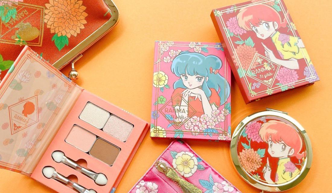 「らんま1/2」女の子たちがデザインされたコスメ雑貨が可愛すぎ!イッツデモで11月販売
