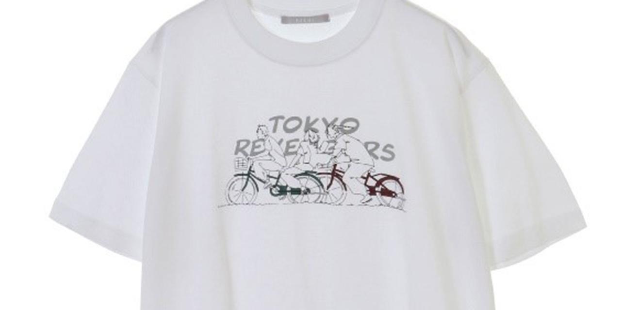 """「東リベ」職人による手作業の""""卍""""刺繍が光る!マイキーらが絵柄のTシャツ・パーカー登場"""