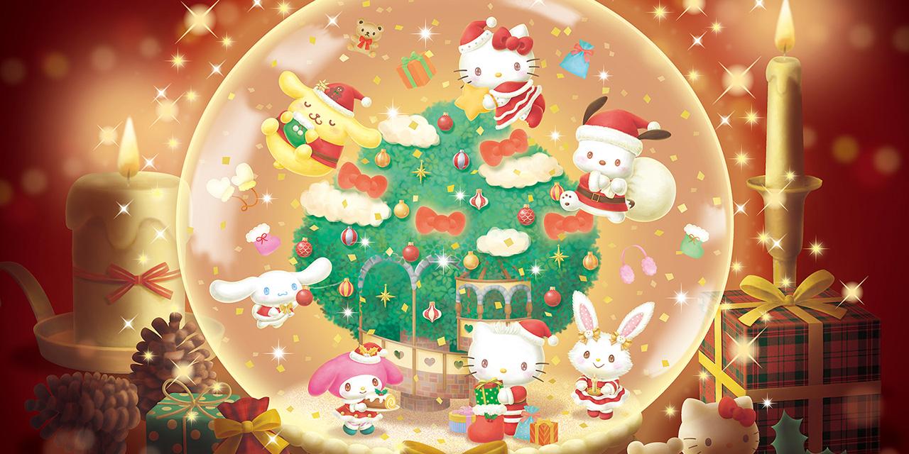 「サンリオピューロランド」クリスマスイベント開催決定!入場した瞬間からクリスマス気分