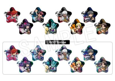 「血界戦線 & BEYOND × Chugai Grace Cafe【LIBRA・GIG】」コラボカフェ_トレーディングスター缶バッジ