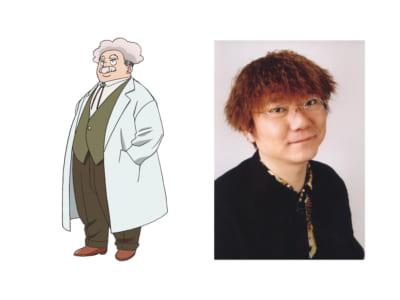TVアニメ「恋は世界征服のあとで」ビッグジェラート博士 CV.茶風林さん