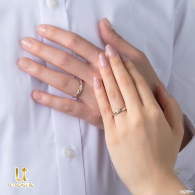 カシウスの槍モチーフの結婚指輪イメージ