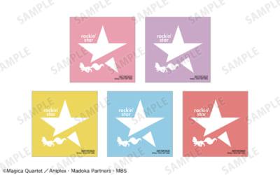 「rockin'star × 魔法少女まどか☆マギカ POP UP SHOP」EC限定購入特典 「ARMA BIANCA」限定 rockin'starコラボ 第2弾ロゴステッカー(全5種)