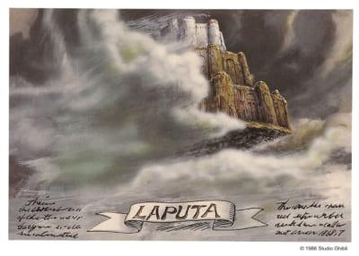 「天空の城ラピュタ」公開35周年記念 天空の城ラピュタ ポーズがいっぱいコレクション 購入特典 ポスター