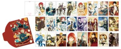 「15th Anniversary 赤髪の白雪姫コラボレーションカフェ」ヒストリーポストカード