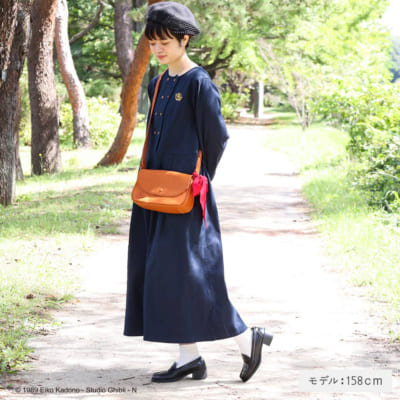 Donguri Closet 魔女の宅急便 グーチョキパン店ワンピース ネイビー