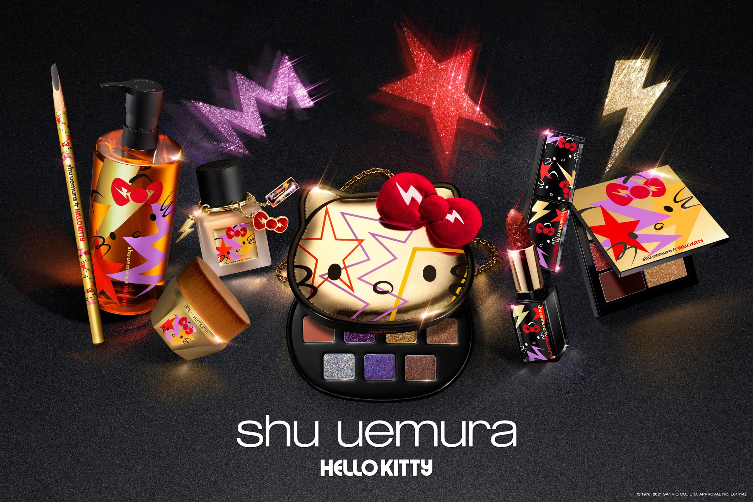 「ハローキティ×シュウ ウエムラ」2021ホリデーコレクションに心ときめく!10月15日先行販売開始