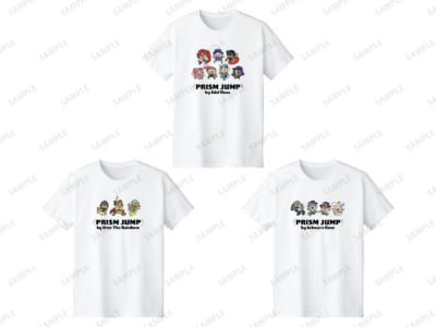 KING OF PRISM × 大川ぶくぶ 第2弾 Tシャツ(全3種)