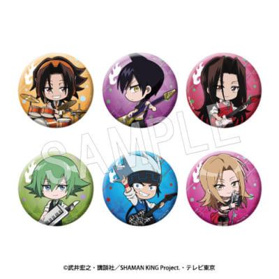 TVアニメ「シャーマンキング」SHAMAN KINGトレーディング缶バッジ ミニキャラ(全6種)