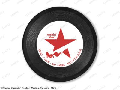 「rockin'star × 魔法少女まどか☆マギカ POP UP SHOP」イベント限定BOX購入特典 rockin'starコラボ ロゴ 第2弾 レコードバッジ ver.B ANIPLEX+/ARMA BIANCA限定特典