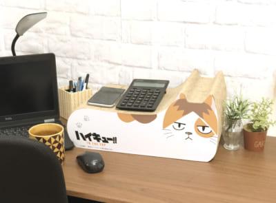 ハイキュー!! TO THE TOP×キャラアニ.com ポップアップショップ 猫の爪とぎ 研磨ネコ