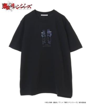 東京リベンジャーズ_HICUL(ハイカル)オリジナルグラフィックTシャツ_場地・千冬
