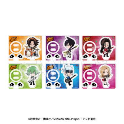 TVアニメ「シャーマンキング」SHAMAN KINGトレーディングアクリルスタンド(全6種)