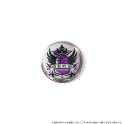 紫原敦メタル缶バッジロゴ