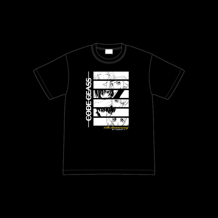 「コードギアス 反逆のルルーシュ」15周年記念 POP UP ショップ Tシャツ(S~XL)…各3,850円(税込)