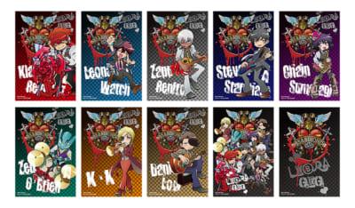 「血界戦線 & BEYOND × Chugai Grace Cafe【LIBRA・GIG】」コラボカフェ_購入特典 ランダムポストカード