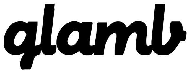 「glamb」ロゴ