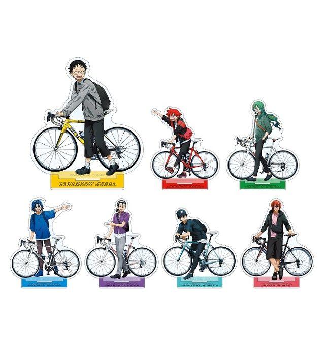 ケモミミの自転車競技部メンバーが可愛い 弱ペダ x 東武動物公園 等身 ちびキャラの描き下ろしイラストグッズ発売 にじめん
