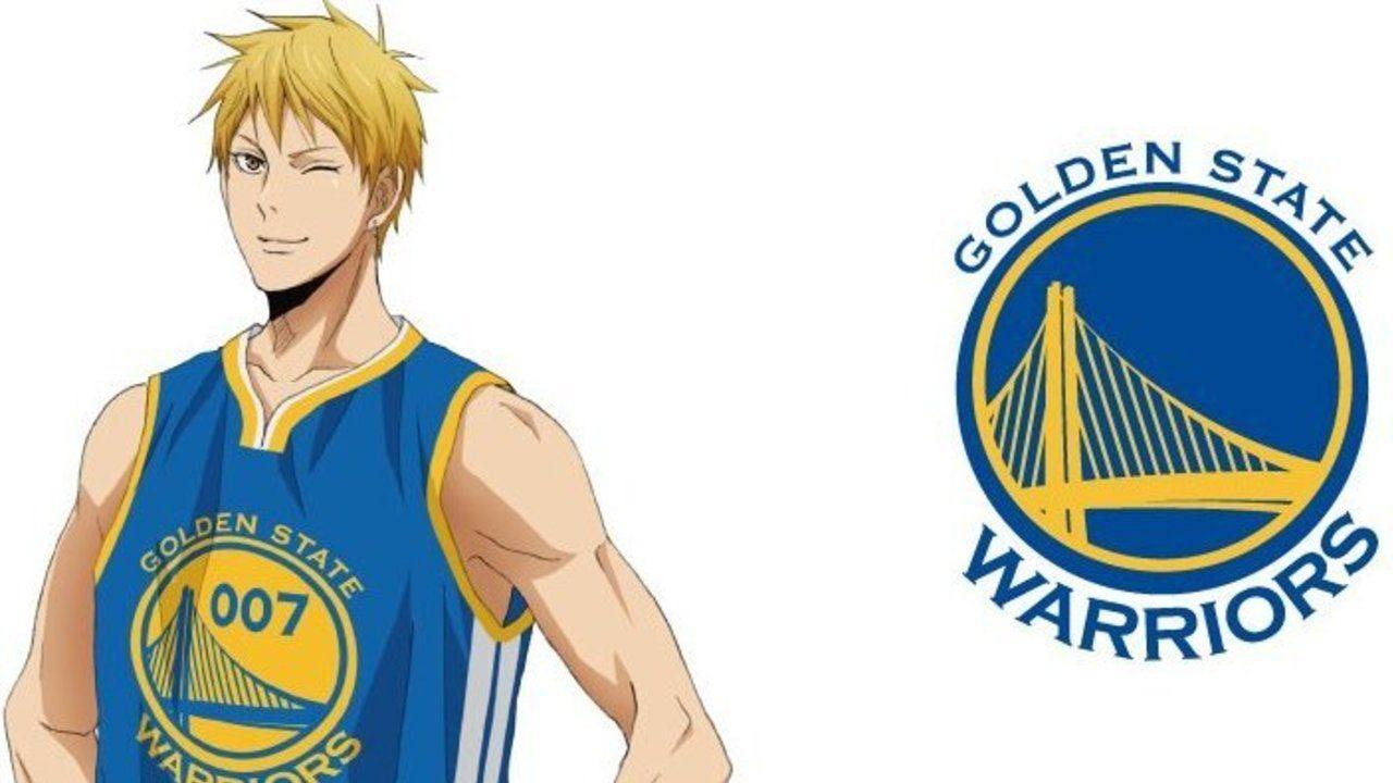 NBA×劇場版『黒子のバスケ』第5弾は黄瀬×ゴールデンステイト・ウォリアーズ!爽やかに着こなしてる!