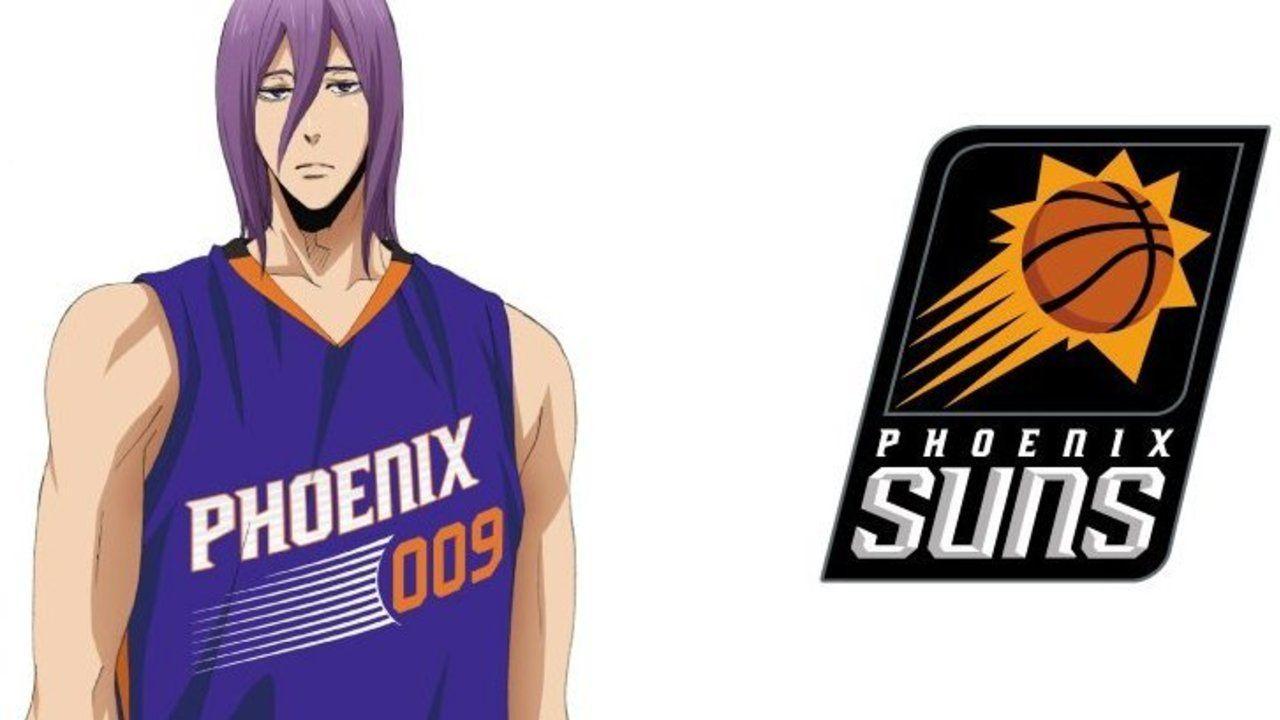 NBA×劇場版『黒子のバスケ』第6弾は紫原×フェニックス・サンズ!いつも通りの表情で登場!