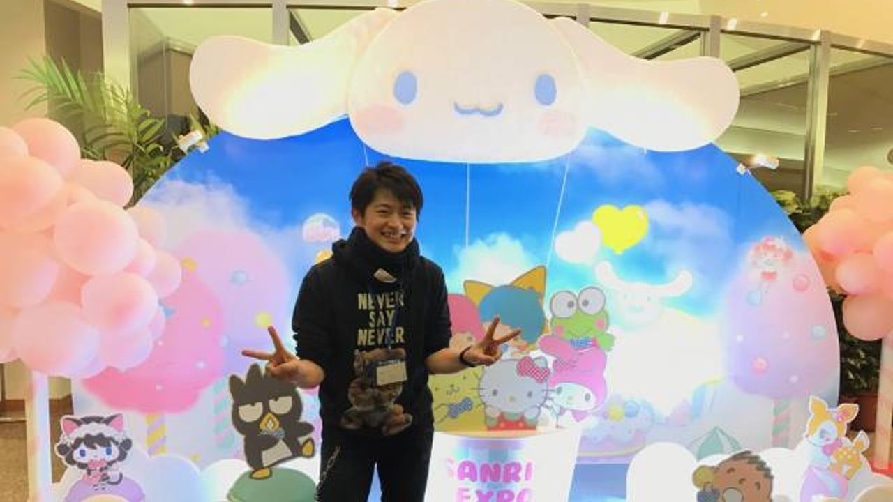 下野紘さん×サンリオがついに動き出した!?サンリオエキスポ2017での写真を公開!